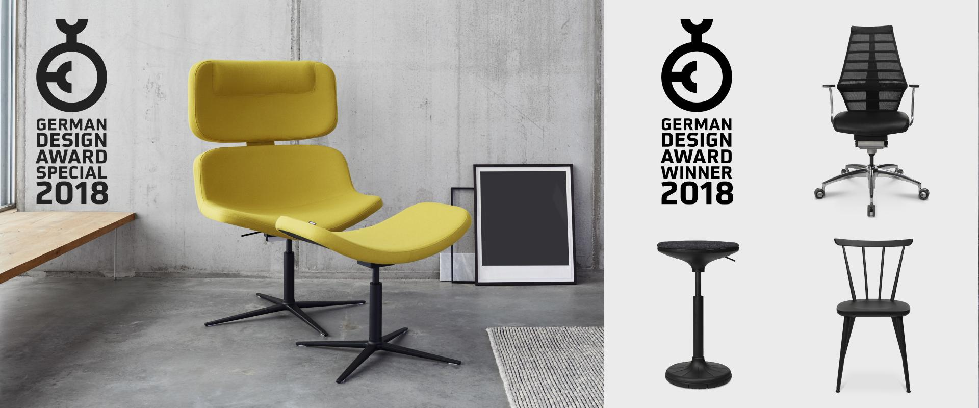 The W Lounge Sound Chair Was Also Awarded A Special Mention In The Furniture  Category.